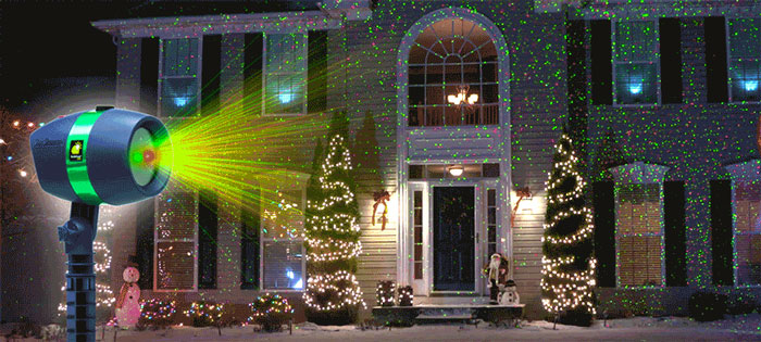 Star Laser Christmas Light