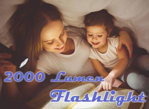 Best 2000 Lumen Flashlight Review
